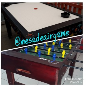Mesa de Air Game x Pebolim